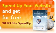 WEBO Site SpeedUp for free