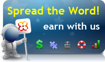 Spread the Word. Earn with us